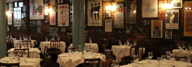 Joe Allen's restaurant - London restaurants - restaurant reviews - food