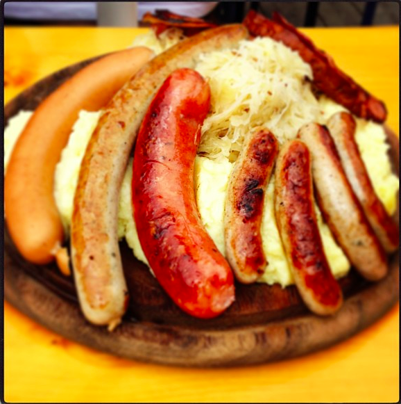 Sauerkraut sausages potatoes recipe - food ideas - dinner recipes