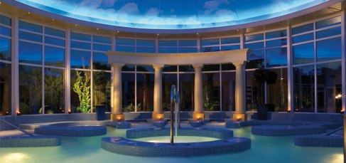 Chewton Glen spa pool - hotel spa reviews - New Forest
