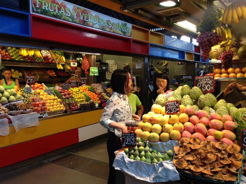Malaga food market