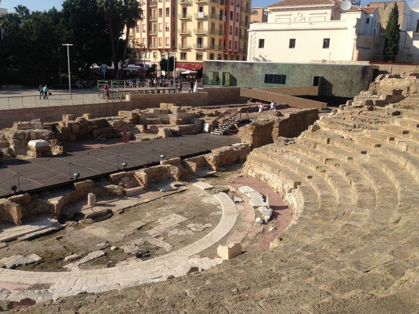 Roman ampitheatre Malaga